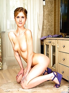 Angelica Angel is the ultimate delectable Russian beauty. Her pale skin and blonde hair make her seem fragile and ethereal, but once she gets started